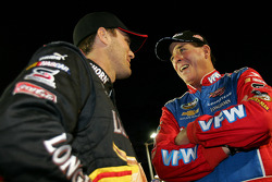 Kevin Harvick and Ron Hornaday