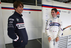 Esteban Gutierrez, Tests for BMW Sauber team, Alexander Rossi, Tests for BMW Sauber team