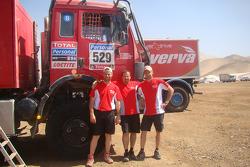 #529 Mercedes: Sylvain Besnard, Emmanuel Wisman and Laurent Lichtleuchter