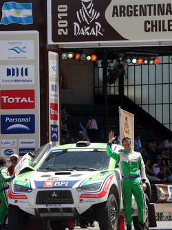 Cars podium: Miguel Barbosa and Miguel Ramalho