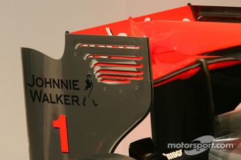 The new McLaren Mercedes MP4-25, detail