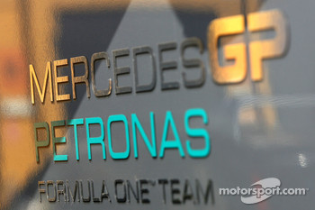 Mercedes GP atmosphere