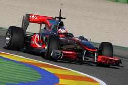 Gary Paffett, Test Driver, McLaren Mercedes, MP4-25