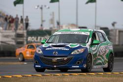 #28 Freedom Autosport Mazda Speed 3: Ryan Ellis, Taylor Hacquard