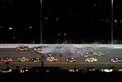 Greg Biffle, Roush Fenway Racing Ford, Matt Kenseth, Roush Fenway Racing Ford, Carl Edwards, Roush Fenway Racing Ford, Bobby Labonte, TRG Motorsports Chevrolet, Scott Speed, Red Bull Racing Team Toyota, Ryan Newman, Stewart-Haas Racing Chevrolet, Mark Mar