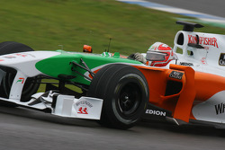 Vitantonio Liuzzi, Force India F1 Team, VJM-03