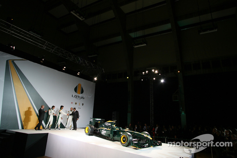 The New Lotus Lotus T127
