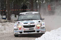 Per-Gunnar Andersson and Anders Fredriksson, Skoda Fabia S2000