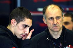 Sebastien Buemi, Scuderia Toro Rosso, Franz Tost, Scuderia Toro Rosso, Team Principal