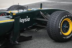Lotus F1 Team, T127, detail