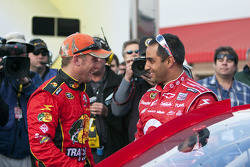 Jamie McMurray, Earnhardt Ganassi Racing Chevrolet and Juan Pablo Montoya, Earnhardt Ganassi Racing Chevrolet