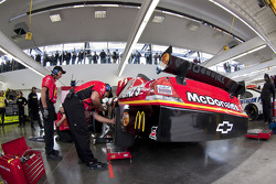 Earnhardt Ganassi Racing Chevrolet team members at work