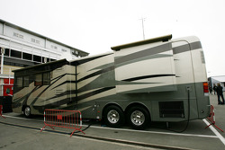 Motorhome of Michael Schumacher, Mercedes GP