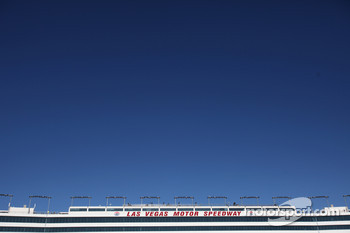 Las Vegas Motor Speedway grandstand building