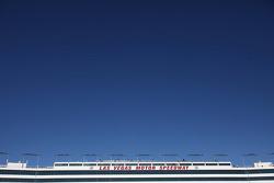 Las Vegas Motor Speedway grandstand building