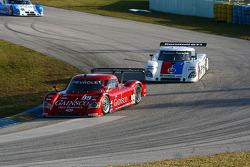 #99 GAINSCO/ Bob Stallings Racing Chevrolet Riley: Jon Fogarty, Alex Gurney; #59 Brumos Racing Porsche Riley: David Donohue, Darren Law