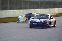 #66 TRG Porsche GT3: Ted Ballou, Andy Lally; #9 Action Express Racing Porsche Riley: Joao Barbosa, Terry Borcheller