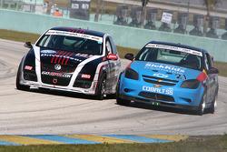 #181 APR Motorsport Volkswagen GTI: Josh Hurley, Kevin Stadtlander; #21 GS Motorsports Chevrolet Cobalt SS: Andrew Danyliw, Jamie Holtom