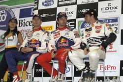 Sébastien Ogier, Sébastien Loeb and Petter Solberg
