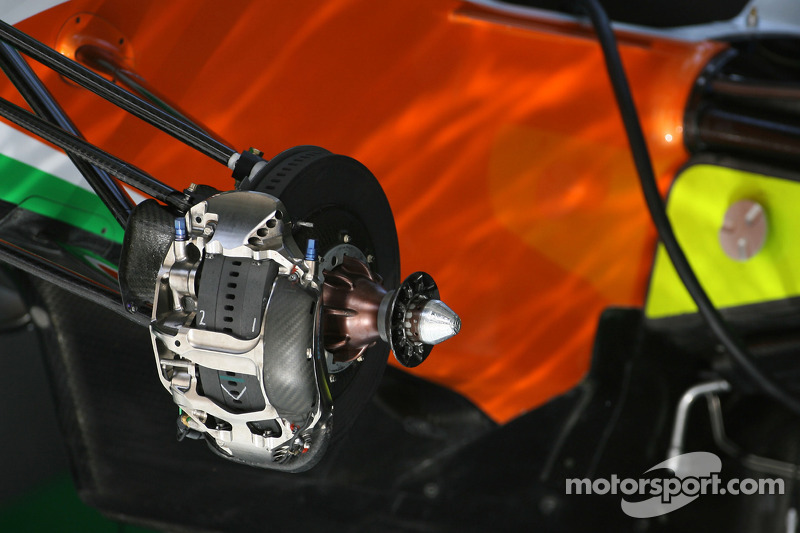 Brake system, Force India F1 Team