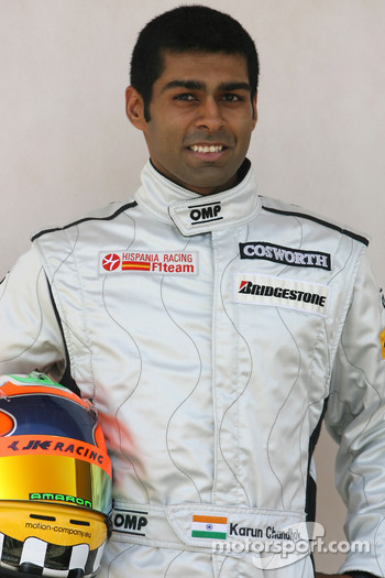 Karun Chandhok, HRT F1 Team