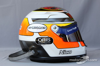 Helmet of Nico Hulkenberg, Williams F1 Team