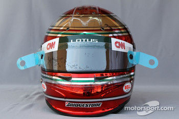 Helmet of Jarno Trulli, Lotus F1 Team