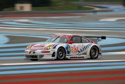 #87 IMSA Performance Matmut Porsche 997 GT3 RSR: Richard Balandras, Pascal Gibon, Christophe Bourret