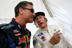 David Coulthard, Red Bull Racing, Consultant and Sir Jackie Stewart, 1969, 1971, 1973 F1 World Champion