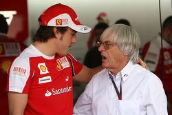 Fernando Alonso, Scuderia Ferrari, Bernie Ecclestone