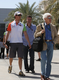 Adrian Sutil, Force India F1 Team, Jorge, father of Adrian Sutil, Force India F1 Team