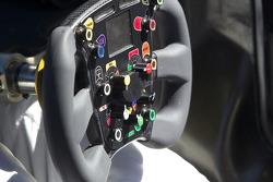 Team Peugeot Total Peugeot 908 HDI FAP steering wheel