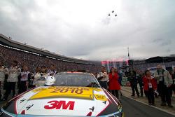 Jeff Gordon, Hendrick Motorsports Chevrolet and Nicole Biffle