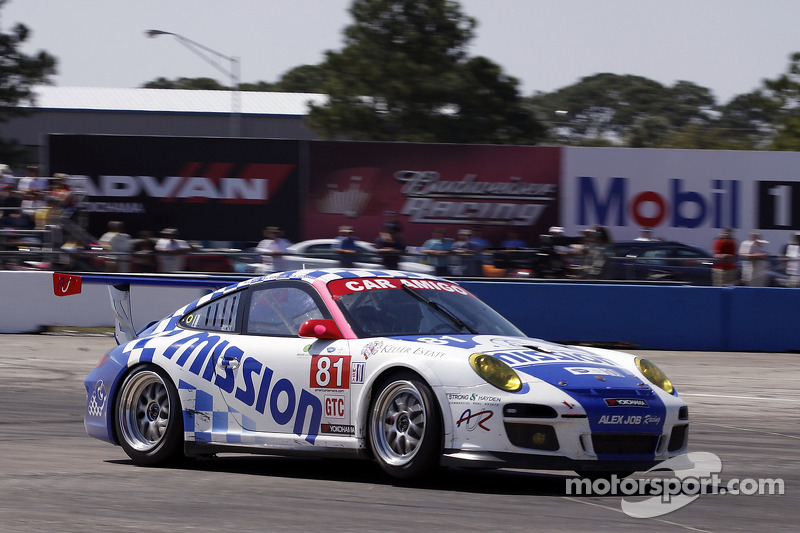 #81 Alex Job Racing Porsche 911 GT3 Cup: Juan Gonzalez, Butch Leitzinger, Leh Keen