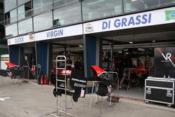 Race preparations, The garage of Virgin Racing