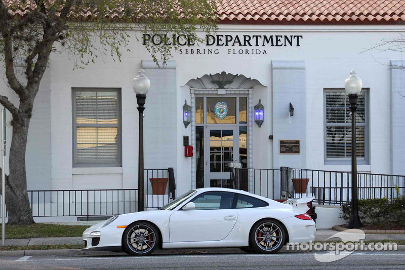 Porsche GT3: writer Jonathan Ingram's ride at Sebring