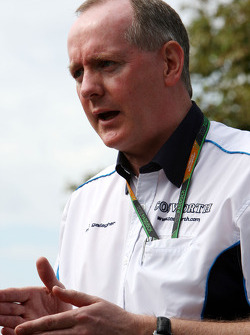 Mark Gallagher, General Manager of Cosworth's F1 Business Unit