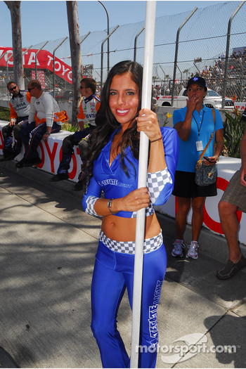 A lovely Tecate grid girl