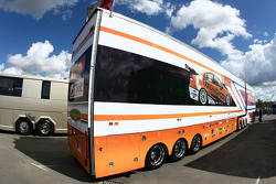 Trading Post Racing transporter