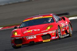 #11 Jimgainer Dixcel Dunlop F430: Tetsuya Tanaka, Katsiyuki Hiranaka