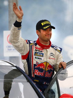 Podium: second place Sébastien Ogier