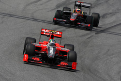 Lucas di Grassi, Virgin Racing, Karun Chandhok, Hispania Racing F1 Team HRT
