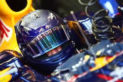 Sebastian Vettel, Red Bull Racing has a new helmet