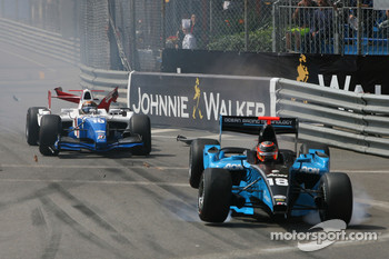 Trouble for Davide Valsecchi and Max Chilton