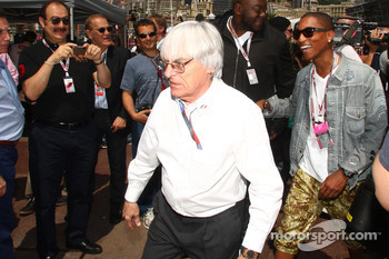Bernie Ecclestone and Pharrell Williams