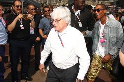 Bernie Ecclestone and Pharrell Williams