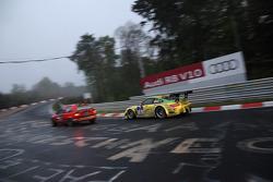 #1 Manthey Racing Porsche GT3 R: Marc Lieb, Timo Bernhard, Romain Dumas, Marcel Tiemann