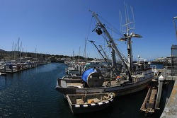 Fishing boat at Monterey Wharf