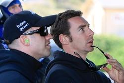 Simon Pagenaud and Marino Franchitti