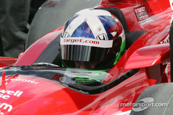 Dario Franchitti, Target Chip Ganassi Racing reflects on his qualifying run